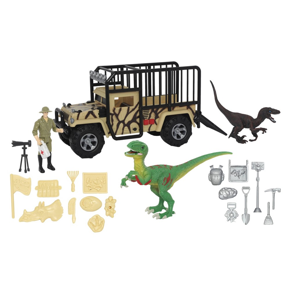 Animal Planet Dino Expedition Playset