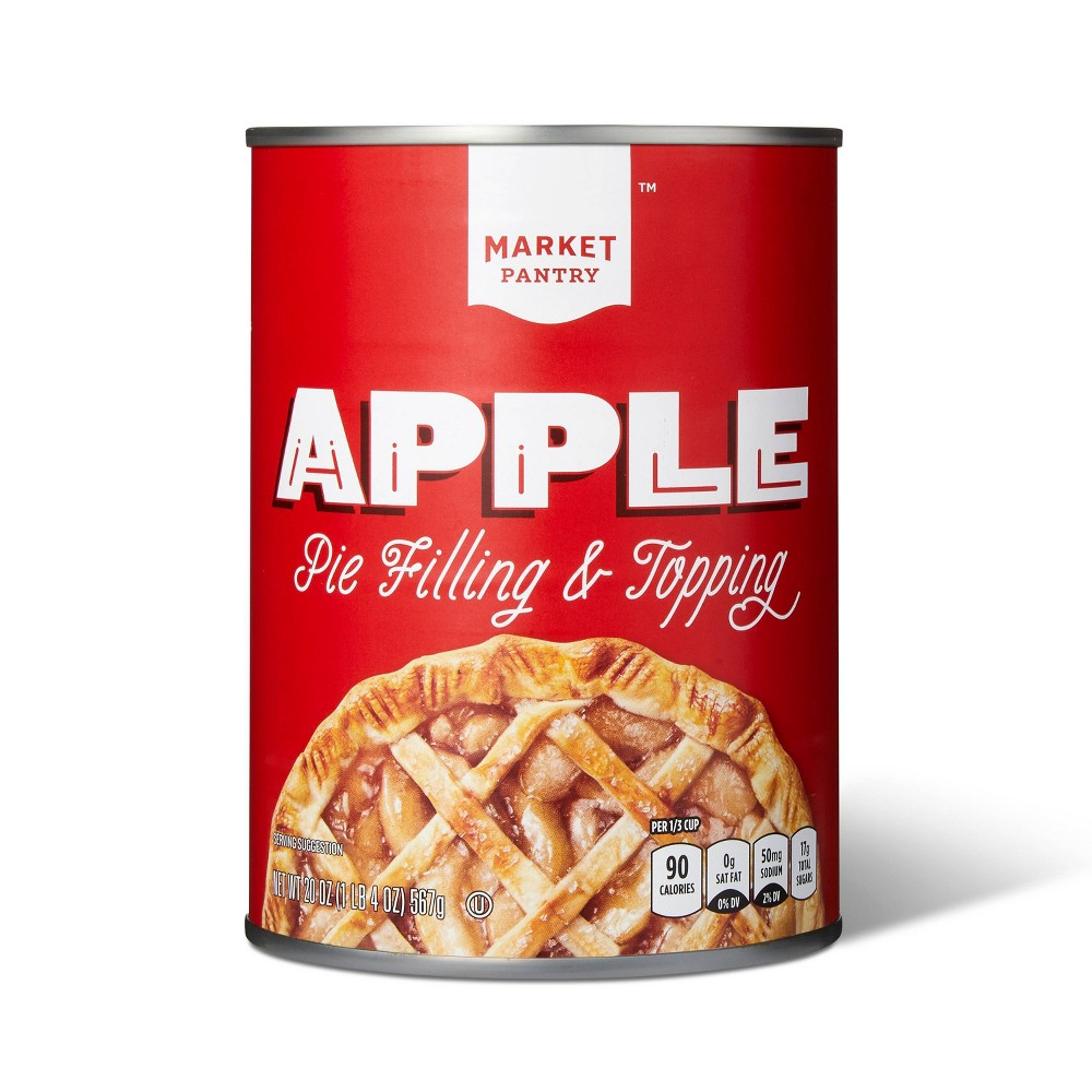 Apple Pie Filling and Topping - 21oz - Market Pantry from Market Pantry