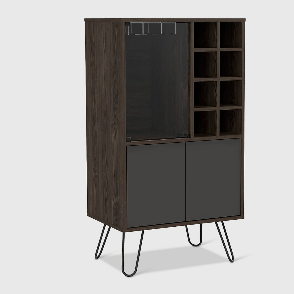Aster Bar Cabinet Brown - RST Brands from RST Brands