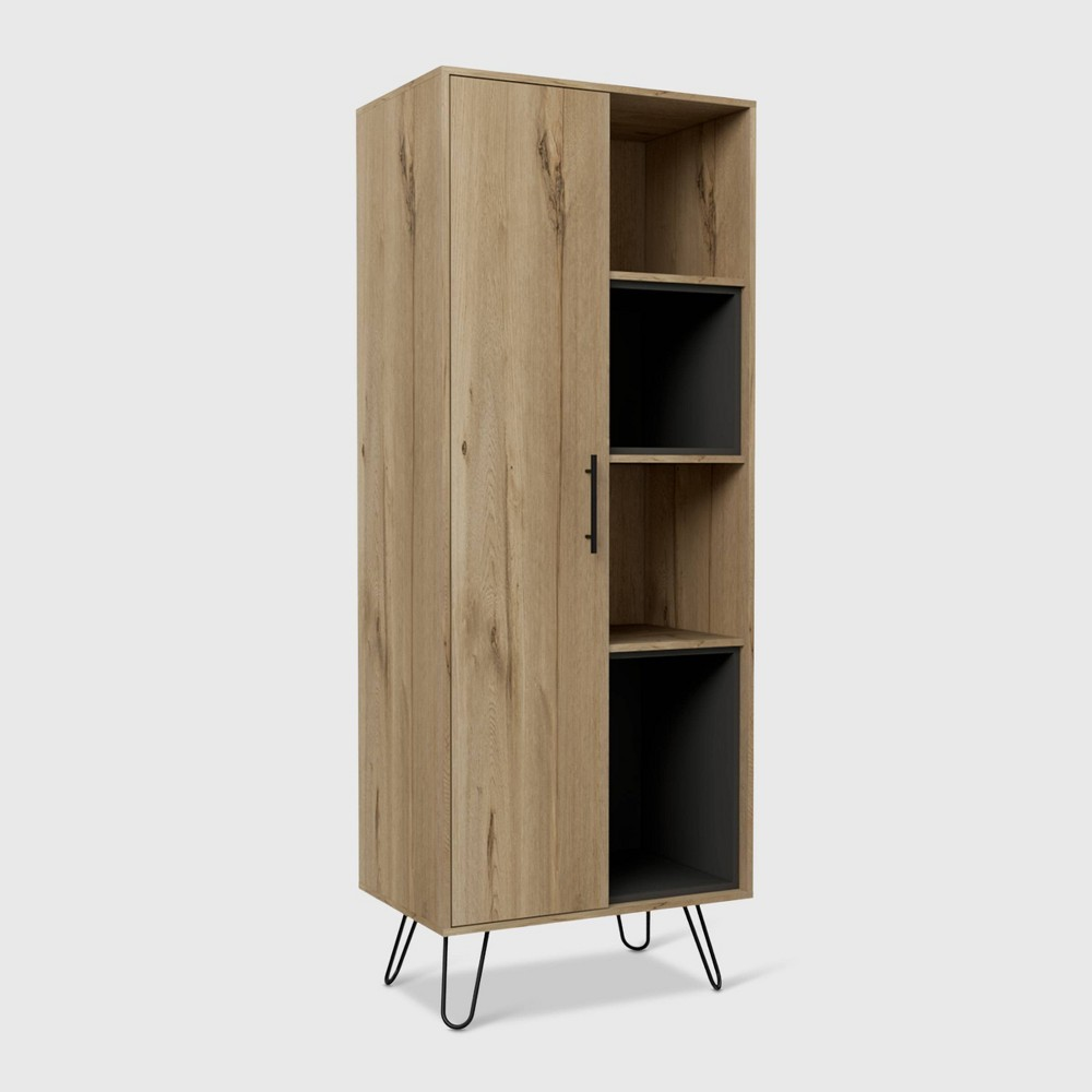 Aster Pantry Cabinet Light Wood - RST Brands from RST Brands
