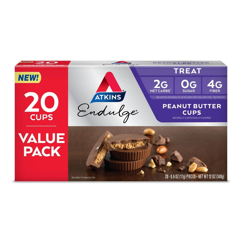 Atkins Endulge Peanut Butter Cup - 20ct/4.5oz from Atkins
