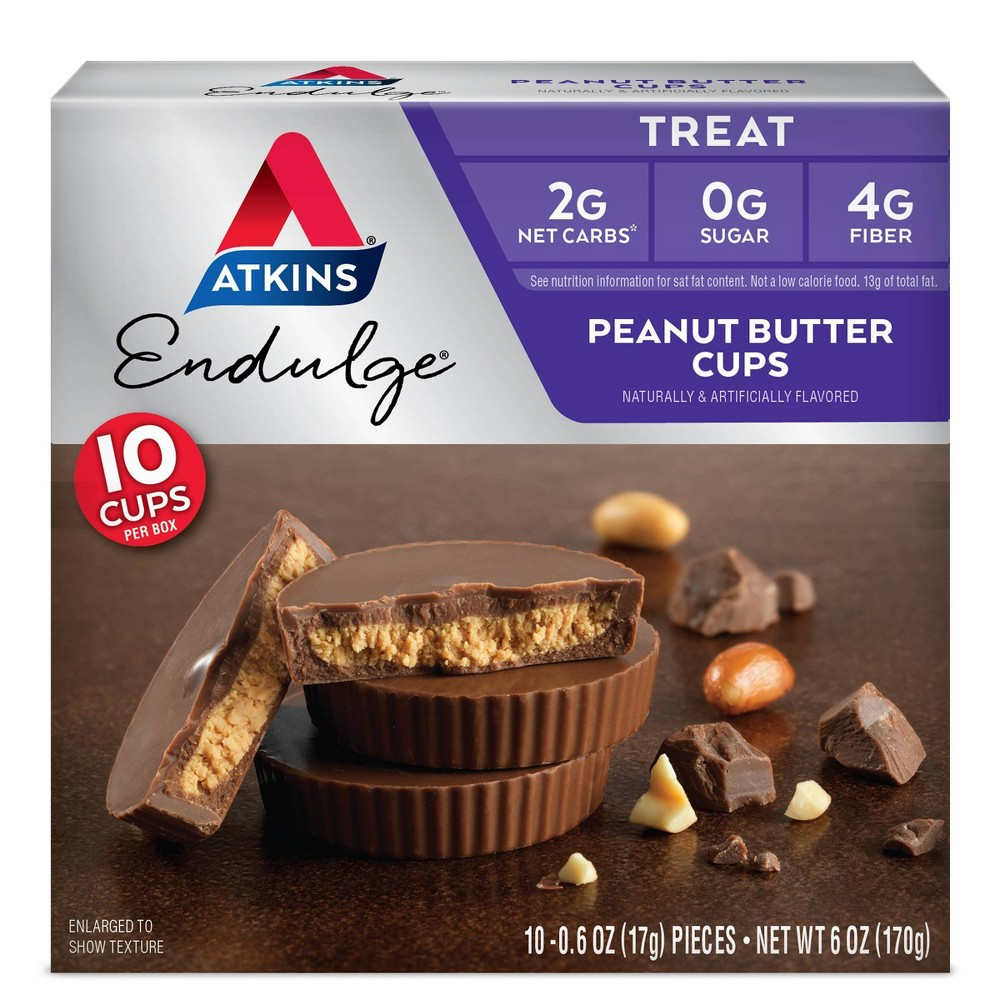 Atkins Endulge Treats - Peanut Butter Cup - 10pk from Atkins