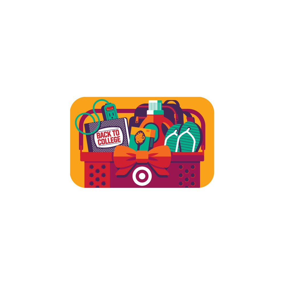 Back to College Basket GiftCard $75 from Target