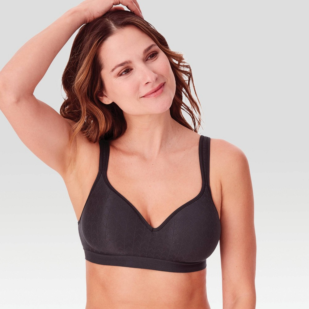 Bali Women's Comfort Revolution Wireless Bra 3463 Black - 36C from Bali