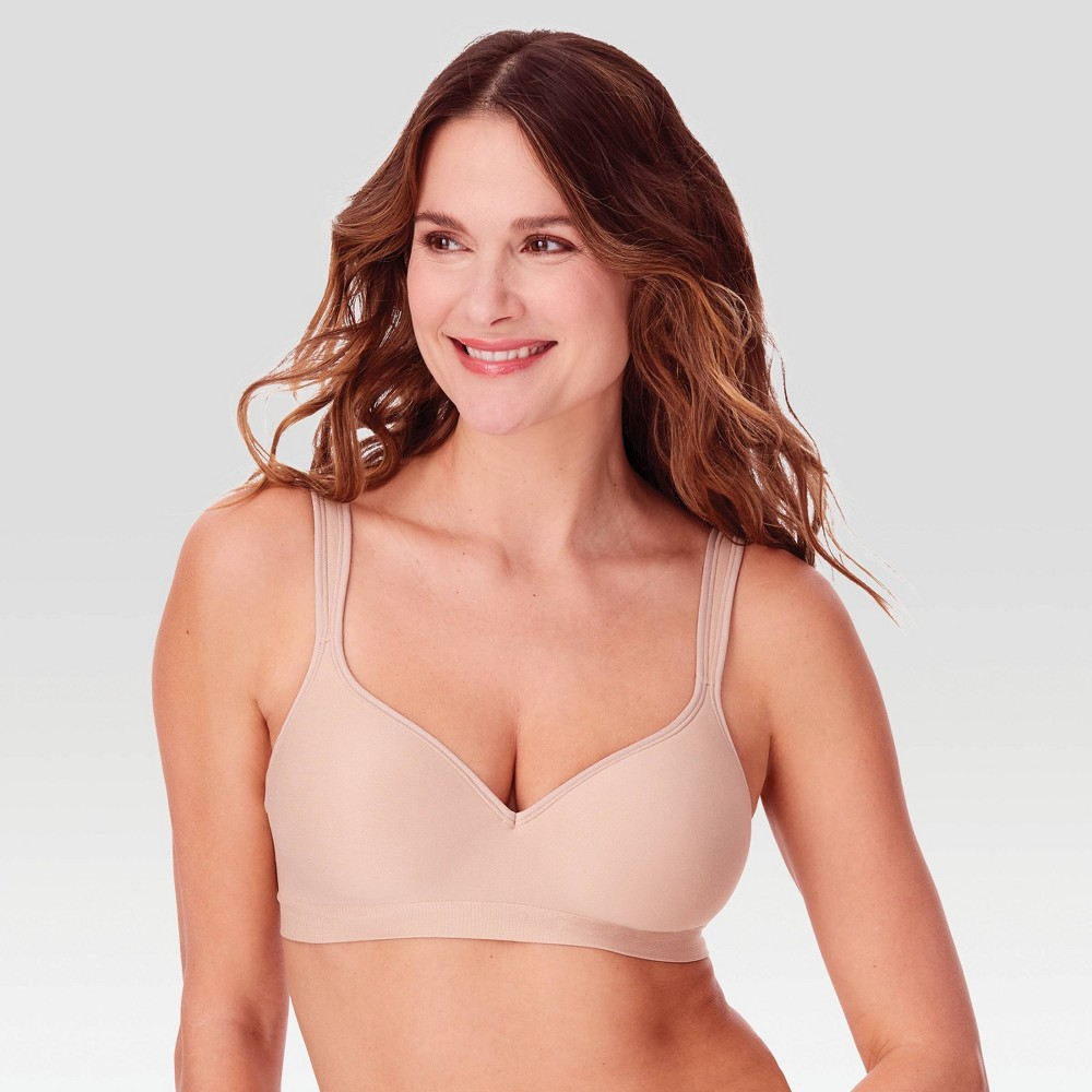 Bali Women's Comfort Revolution Wireless Bra 3463 Nude - 38D from Bali