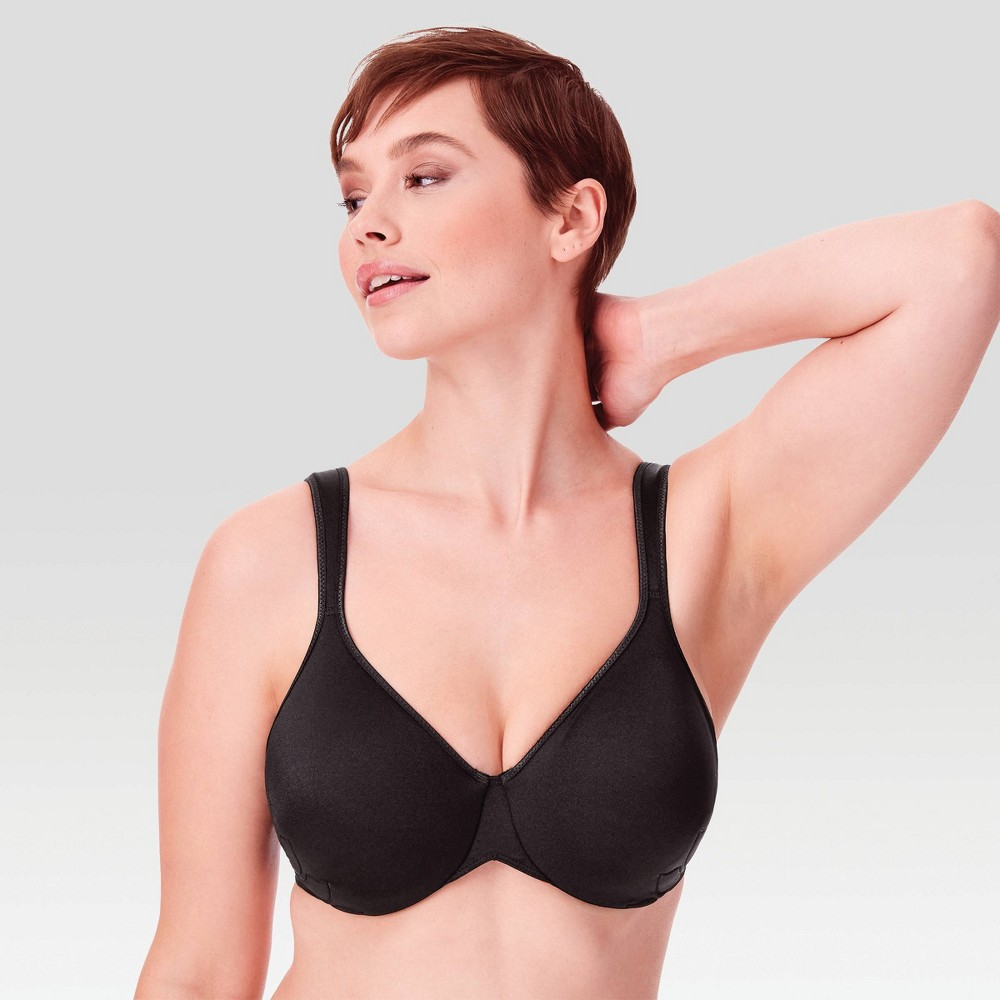 Bali Women's Live It Up Seamless Underwire Bra 3353 Black - 42DD from Bali