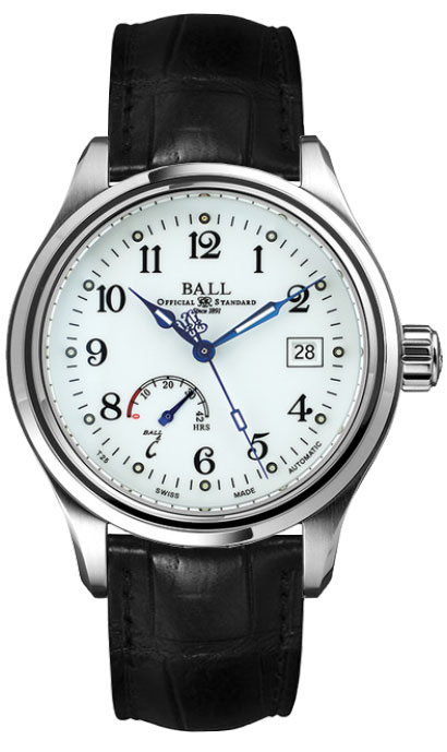 Ball Trainmaster Power Reserve NM1056D-L1J-WH