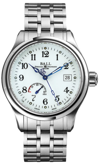 Ball Trainmaster Power Reserve NM1056D-S1J-WH