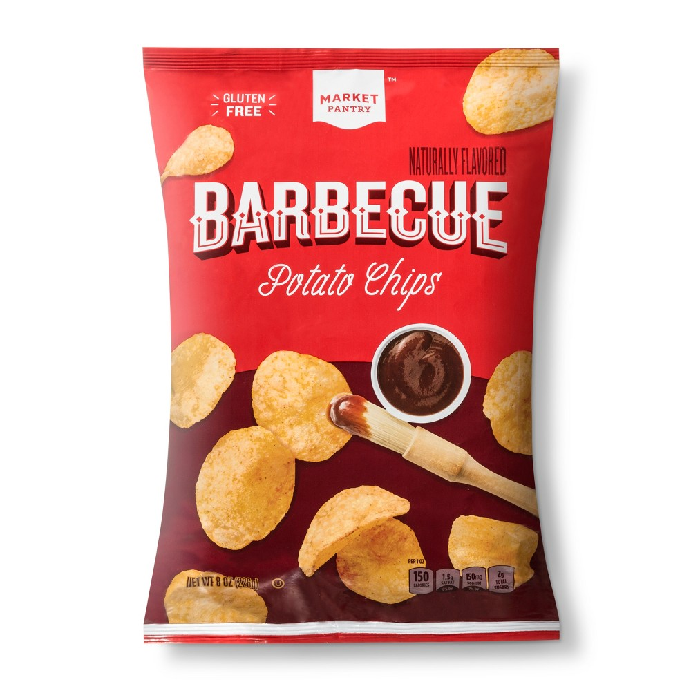 Barbecue Potato Chips - 8oz - Market Pantry from Market Pantry