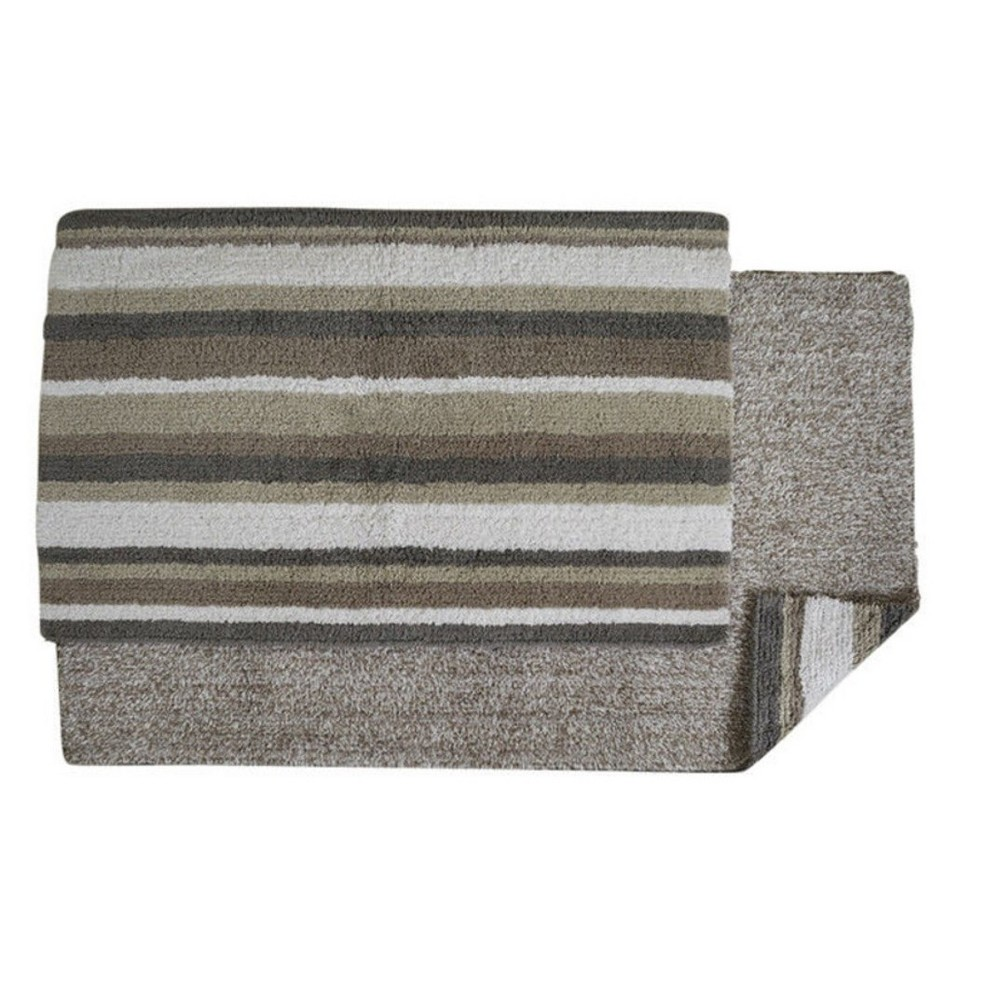"21""x34"" Elixir Collection 100% Cotton Rectangle Bath Rug Gray - Better Trends from Better Trends"