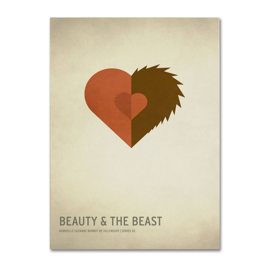 "16"" x 24"" Beauty and the Beast by Christian Jackson - Trademark Fine Art from Trademark Global"
