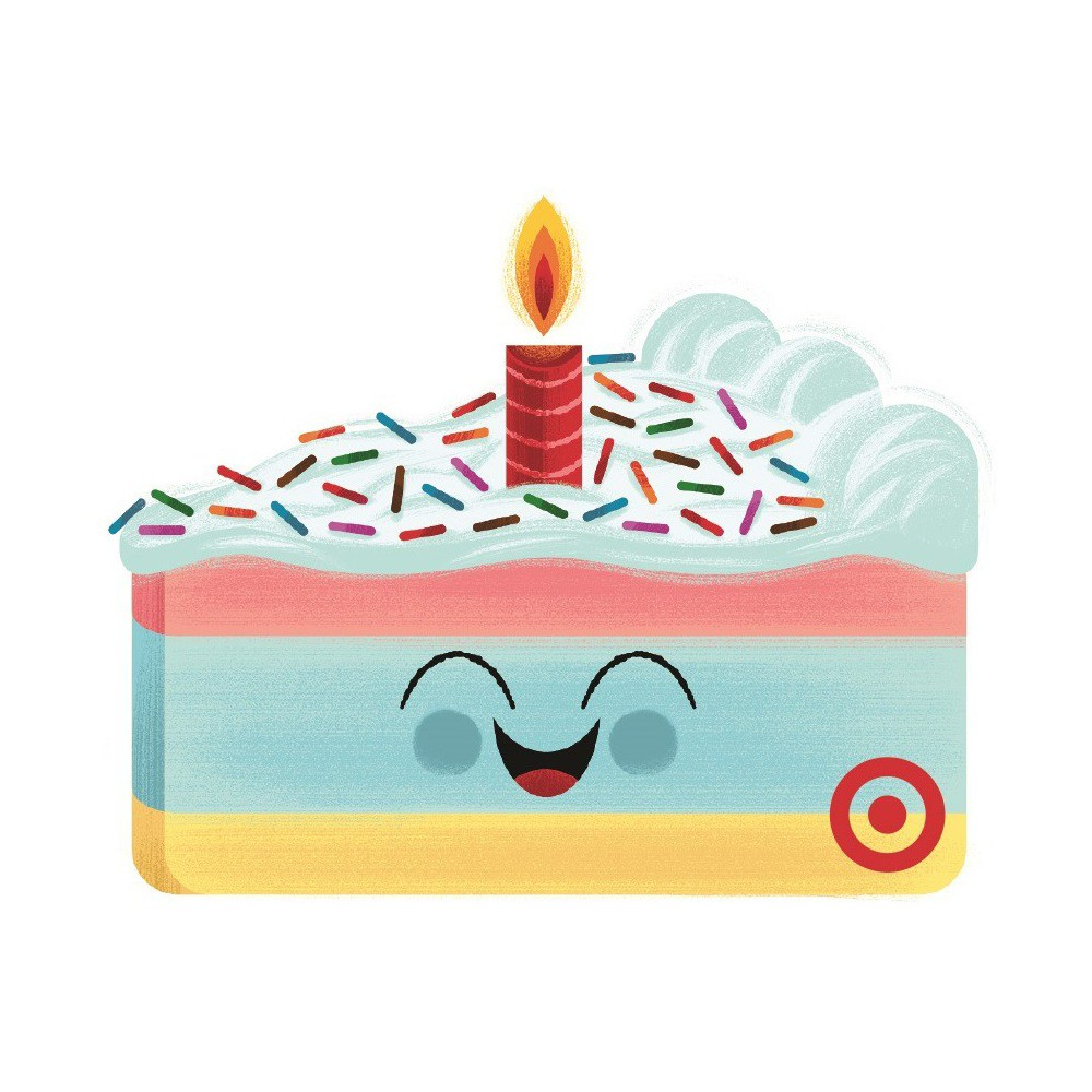 Birthday Cake GiftCard $50 from Target