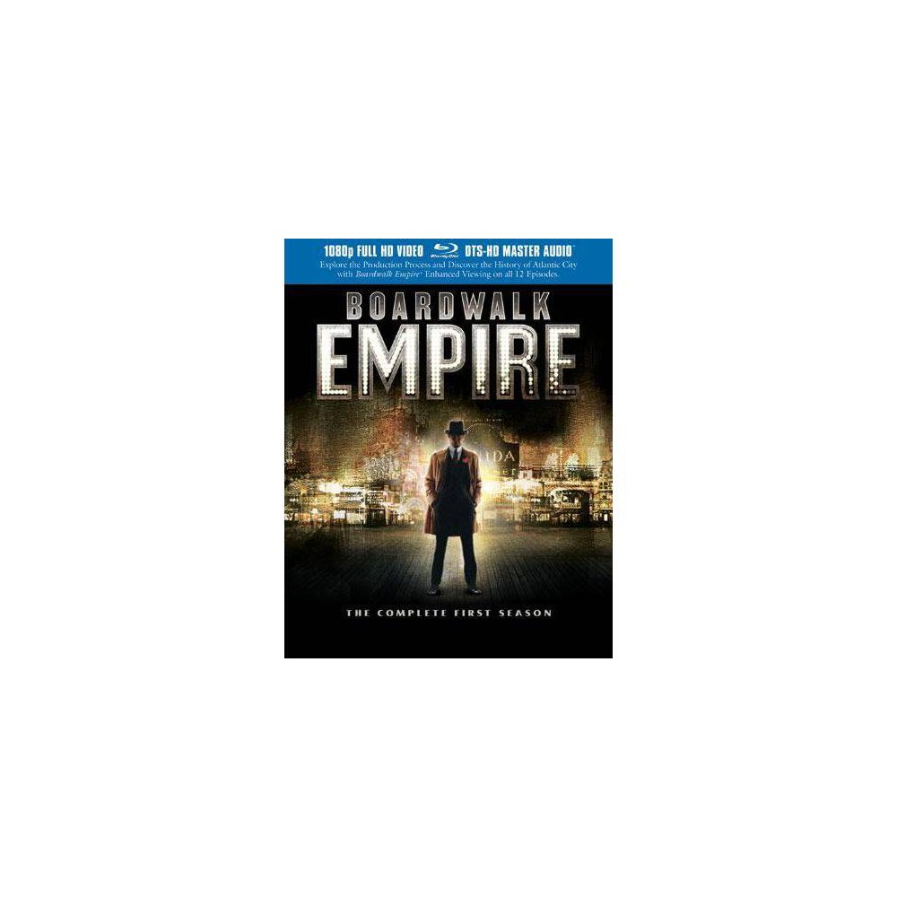 Boardwalk Empire: The Complete First Season (Blu-ray)(2012) from Boss