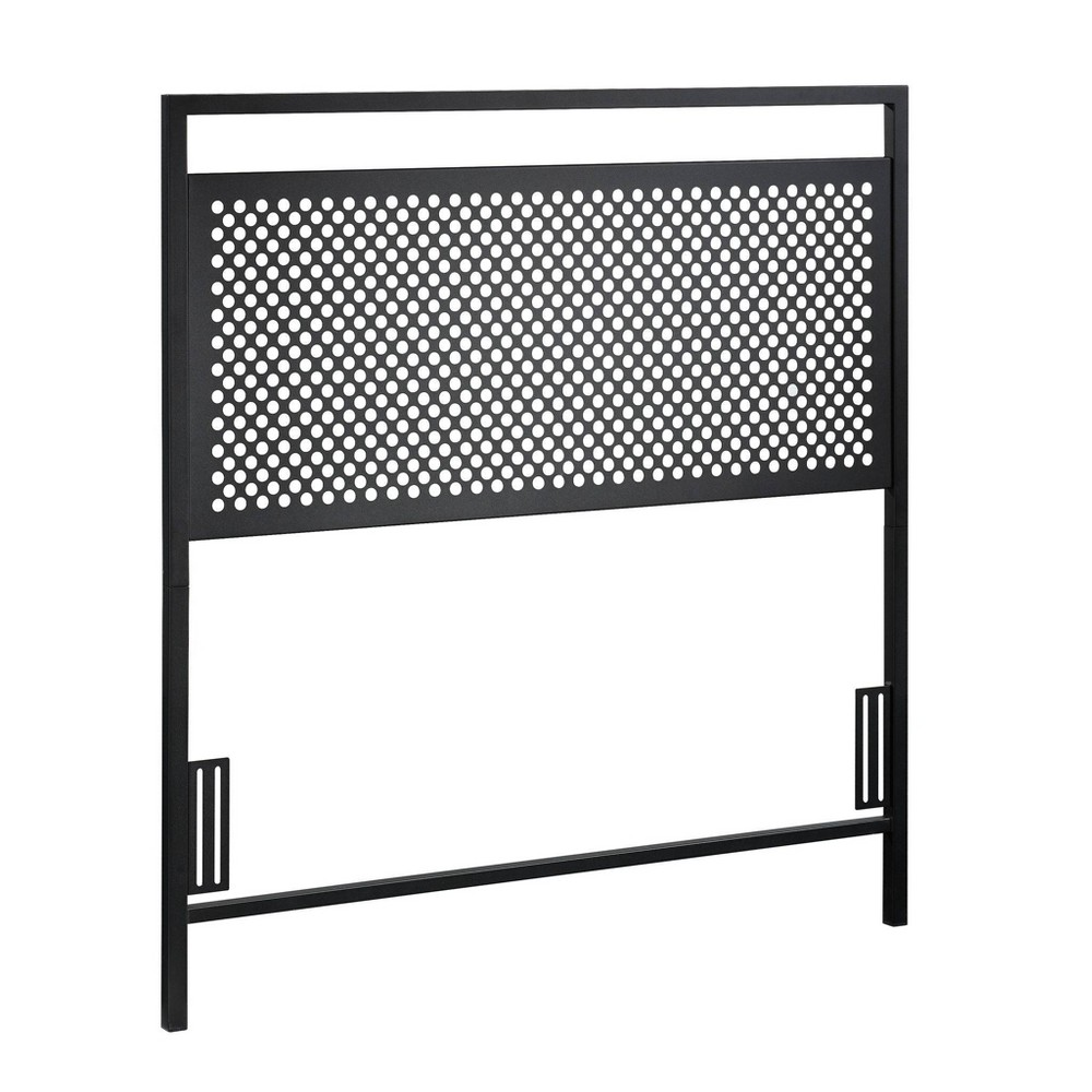Twin Boulevard Cafe Headboard Twin Black - Sauder from Sauder