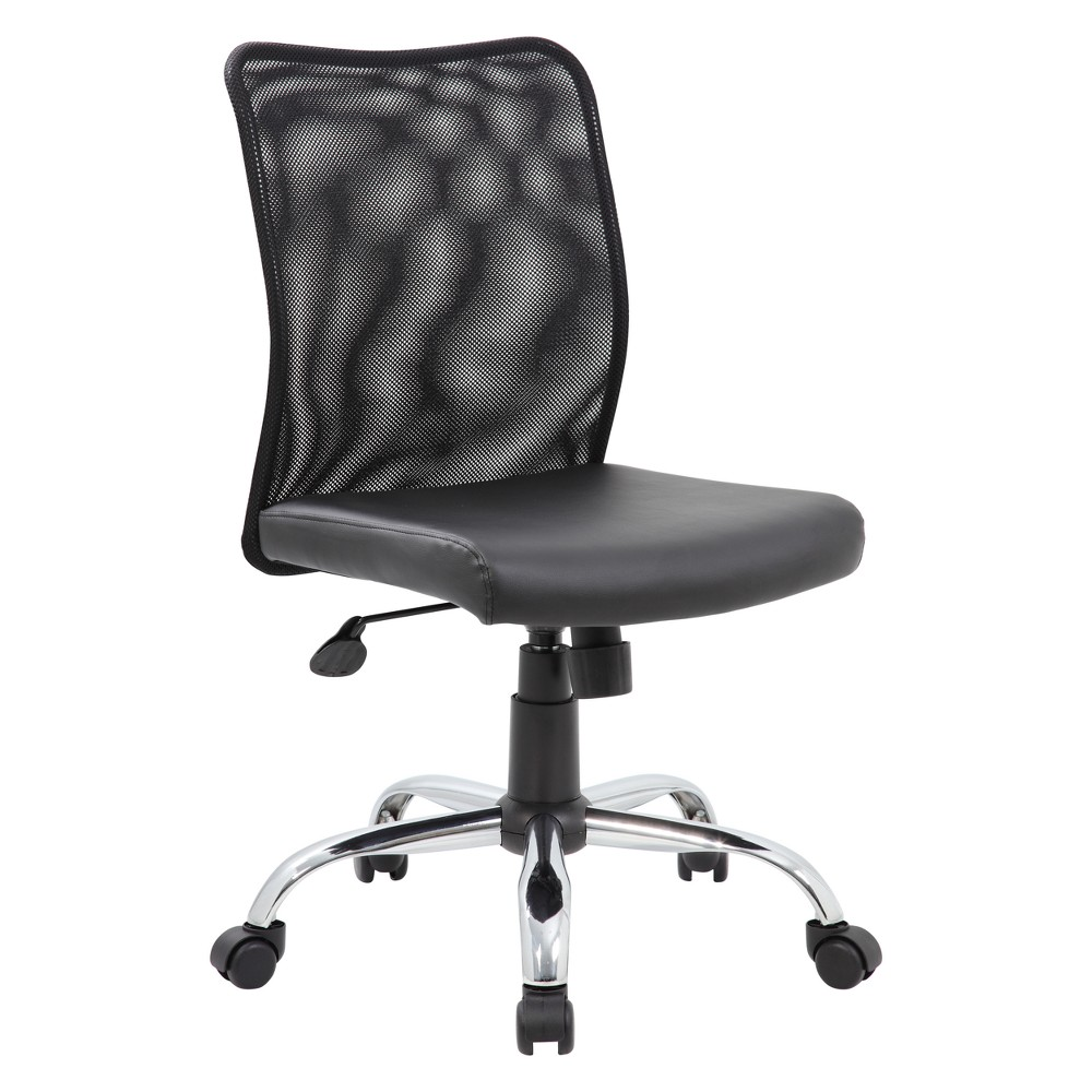 Budget Mesh Task Chair Black - Boss from Boss Office Products