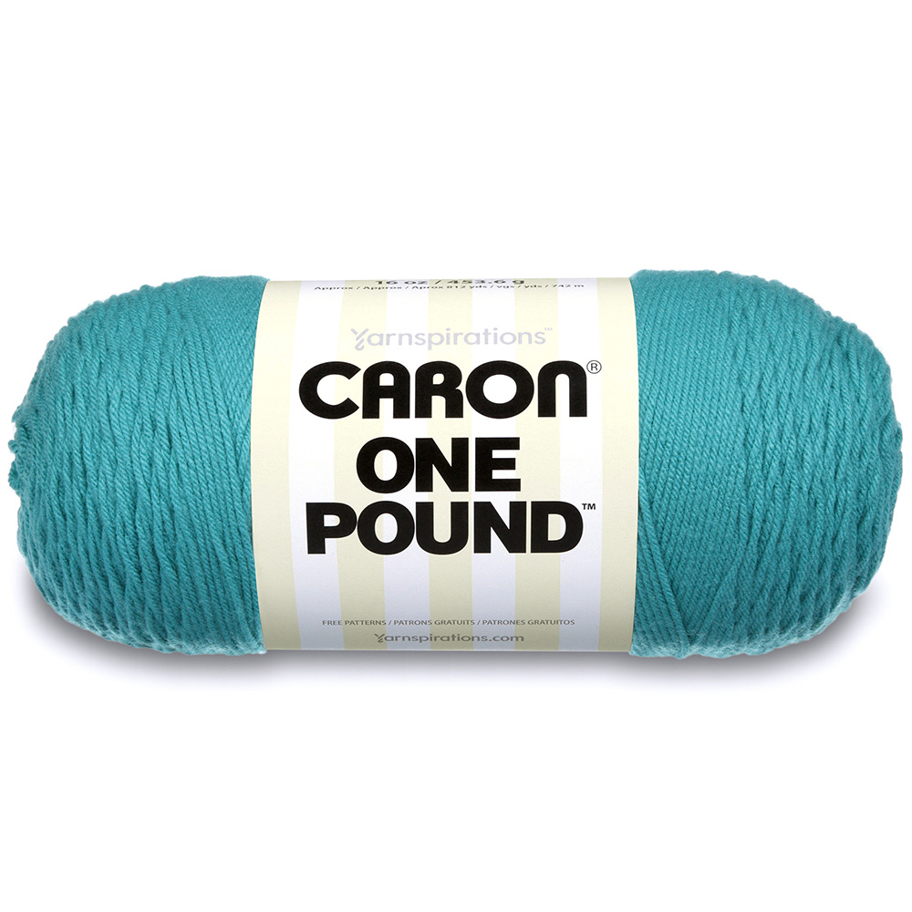 Caron One Pound Yarn Aqua