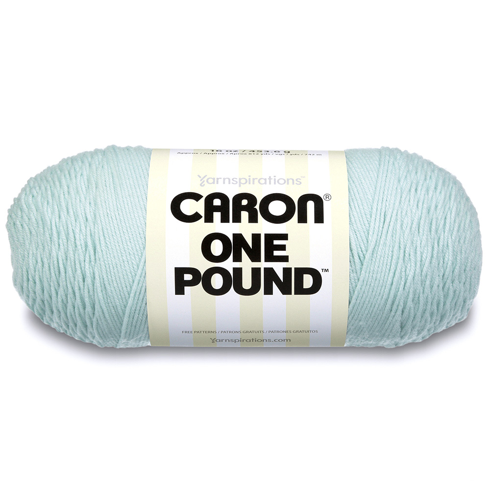 Caron One Pound Yarn Pale Green