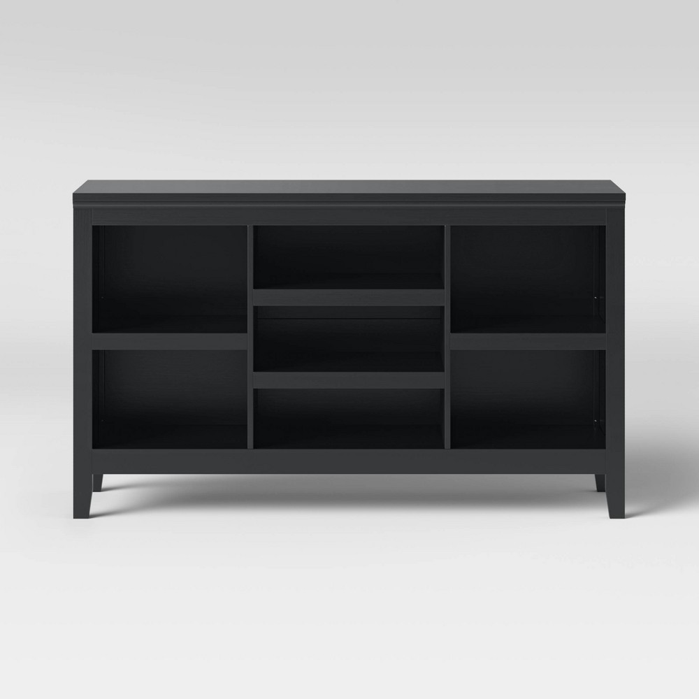 Carson 32 Horizontal Bookcase with Adjustable Shelves - Black - Threshold