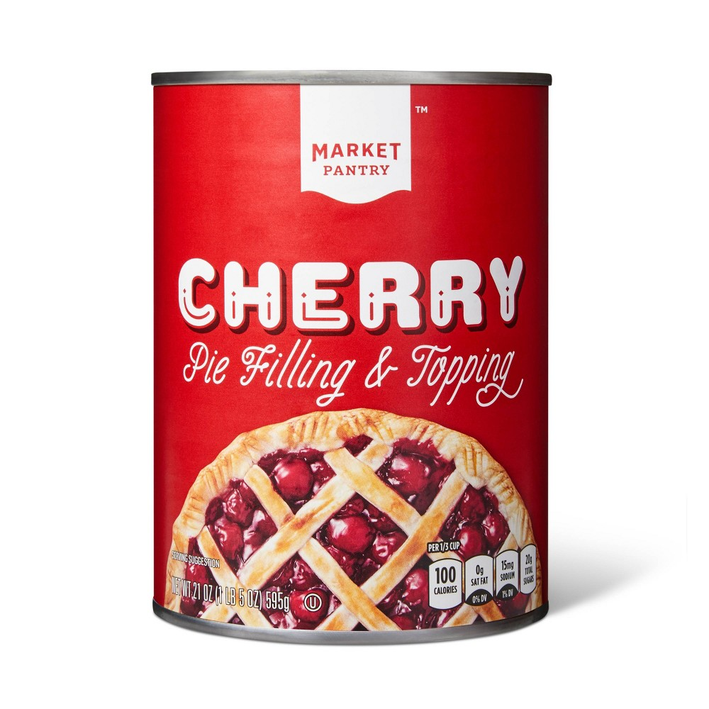 Cherry Pie Filling Or Topping - 21oz - Market Pantry from Market Pantry
