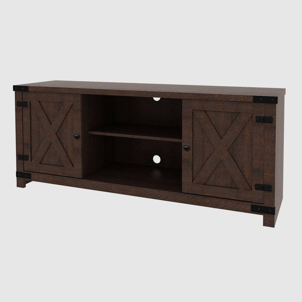 Claret Media Console Table Brown - RST Brands from RST Brands