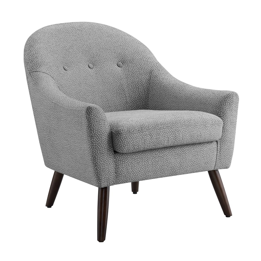 Clenna Accent Chair Gray - Linon from Linon