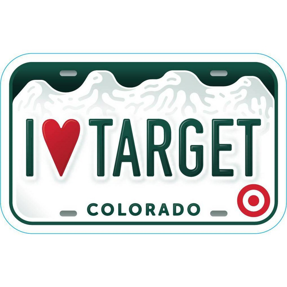 Colorado License Plate Target GiftCard $200 from Target