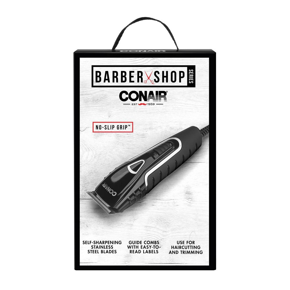 Conair Barber Shop Full Size Clipper - 17pc from Conair