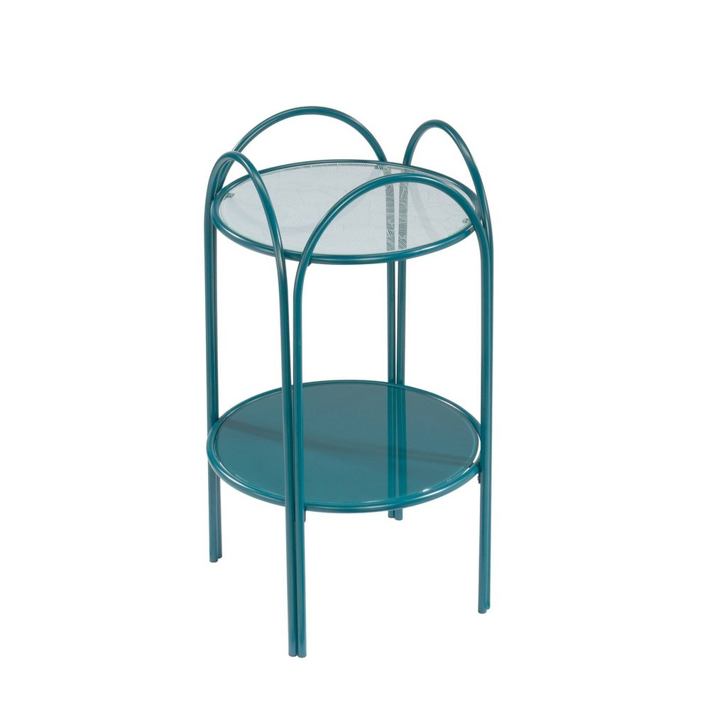 Coral Cape End Table Teal - Sauder from Sauder