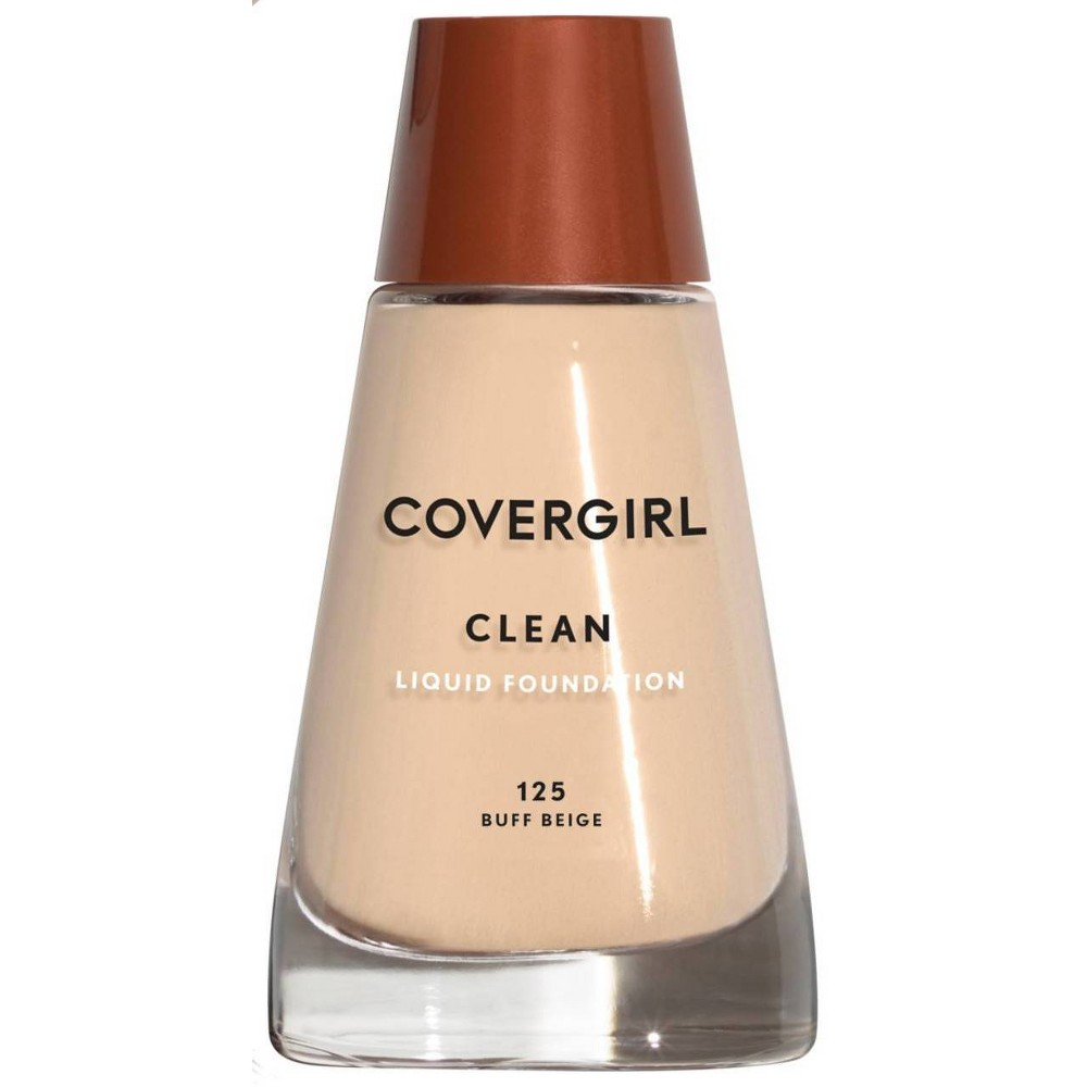 Covergirl Clean Foundation 125 Buff Beige 1Fl Oz