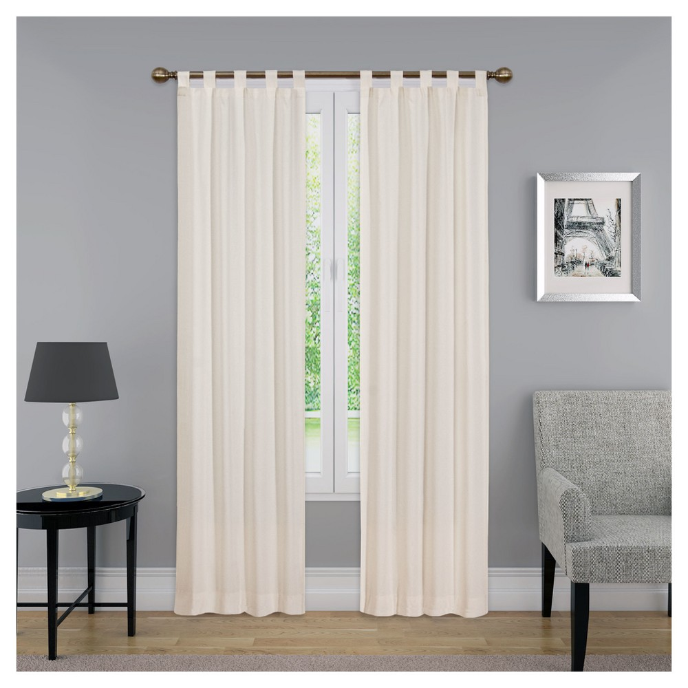 "Curtain Panels Solid Beige 30""x 95"" - Pairs To Go, Adult Unisex, Size: 30""x95"""