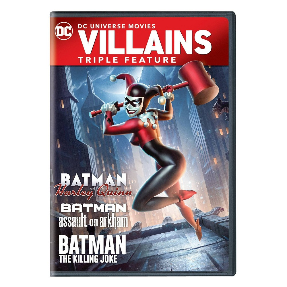Batman and Harley Quinn Triple Feature (DVD) from Warner