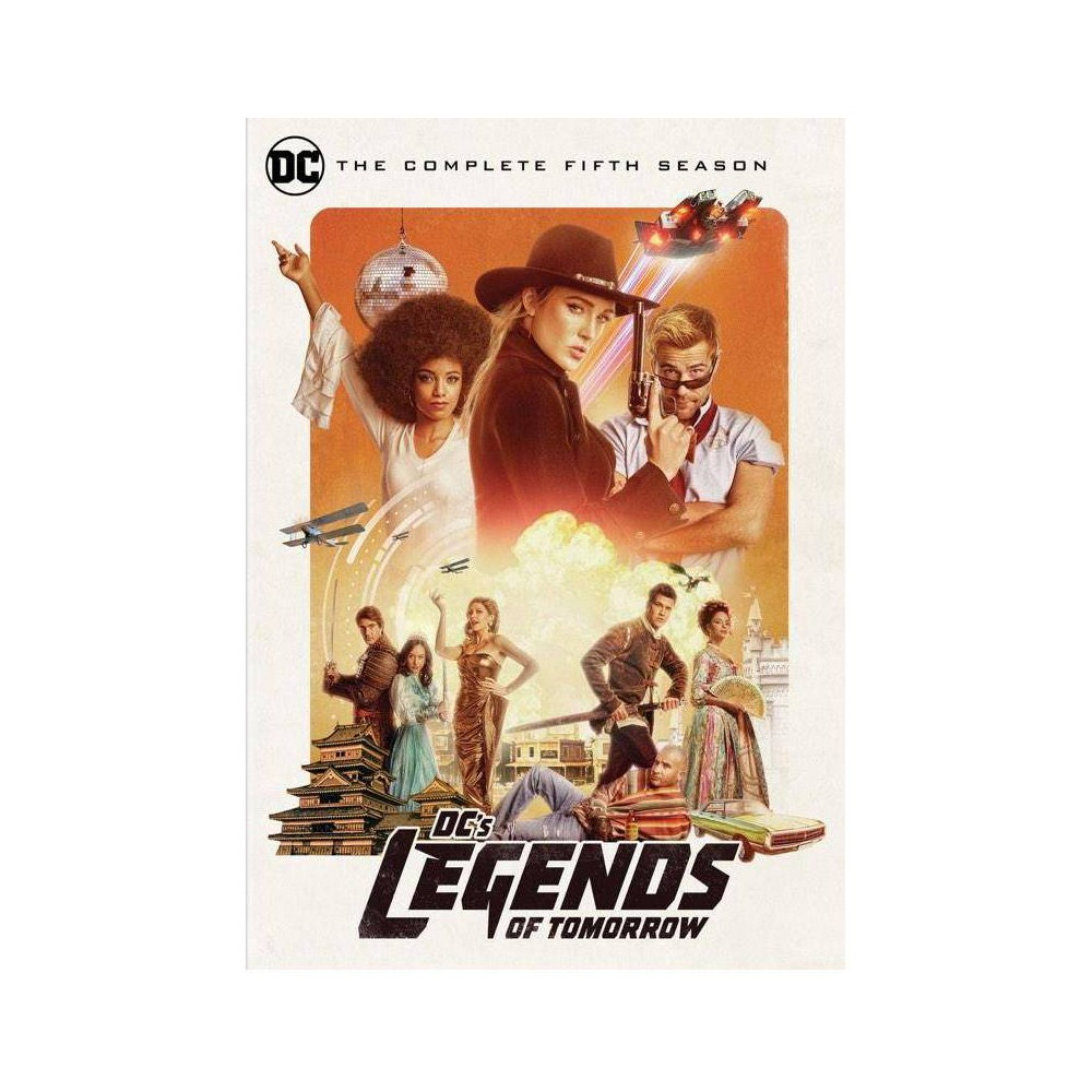 DC's Legends of Tomorrow: The Complete Fifth Season (DVD) from Warner