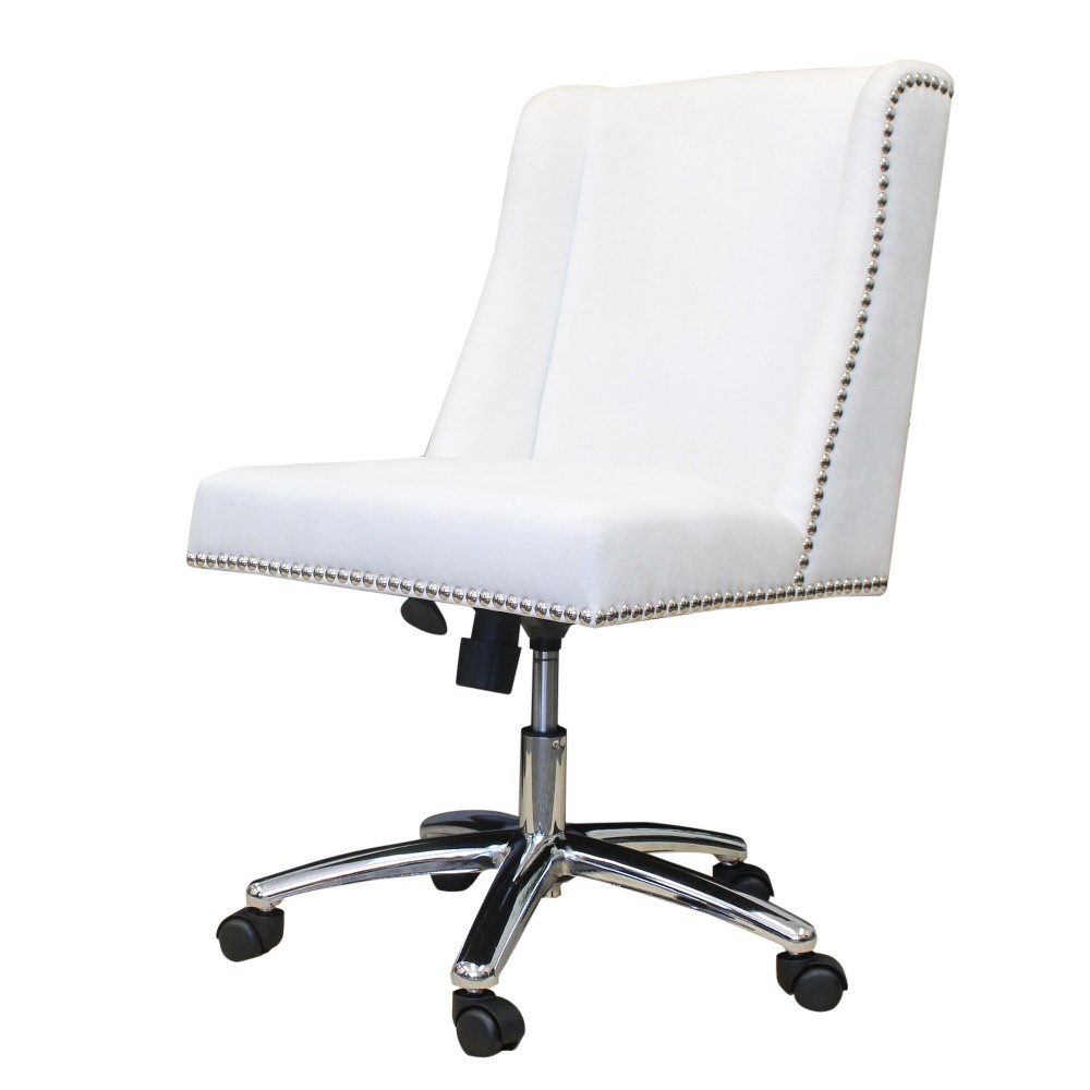 Decorative Task Chair White - Boss from Boss Office Products