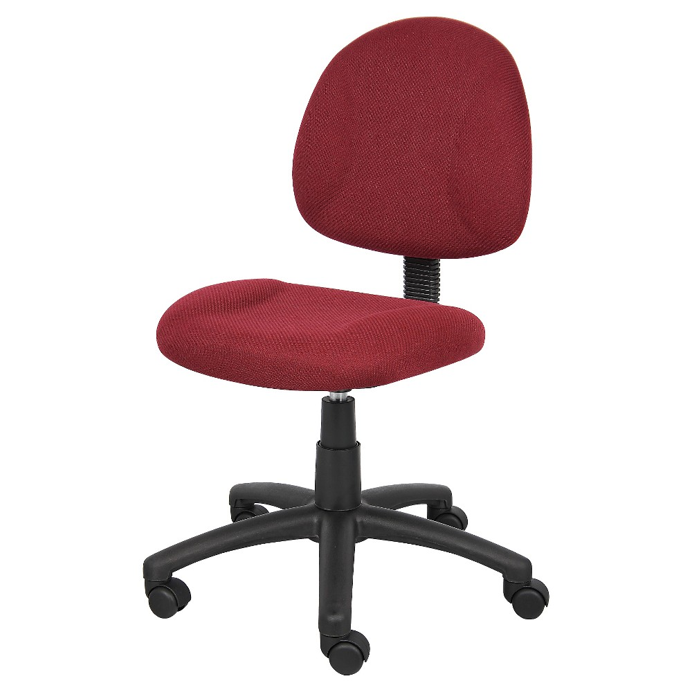 Deluxe Posture Chair Burgundy - Boss Office Products