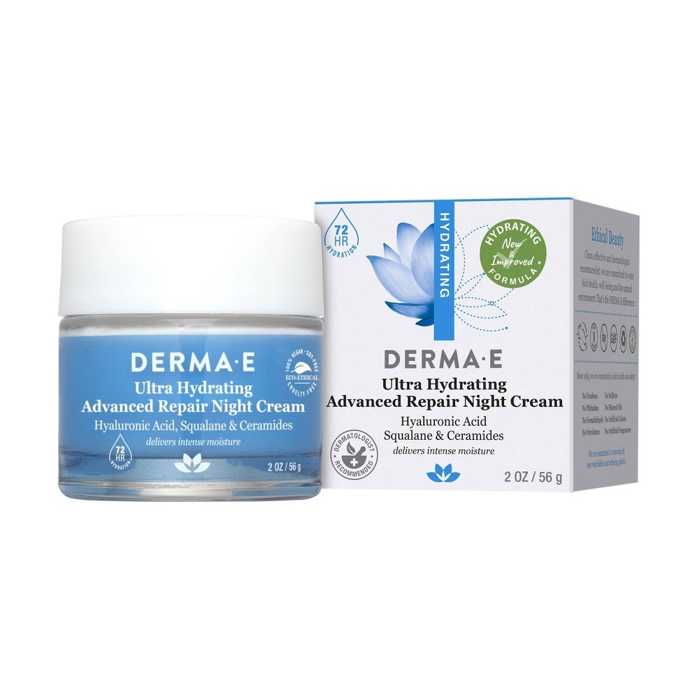 Derma E Hydrating Night Cream - 2 oz