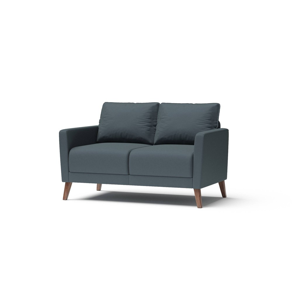 Derna Upholstered Loveseat Dark Gray - RST Brands from RST Brands