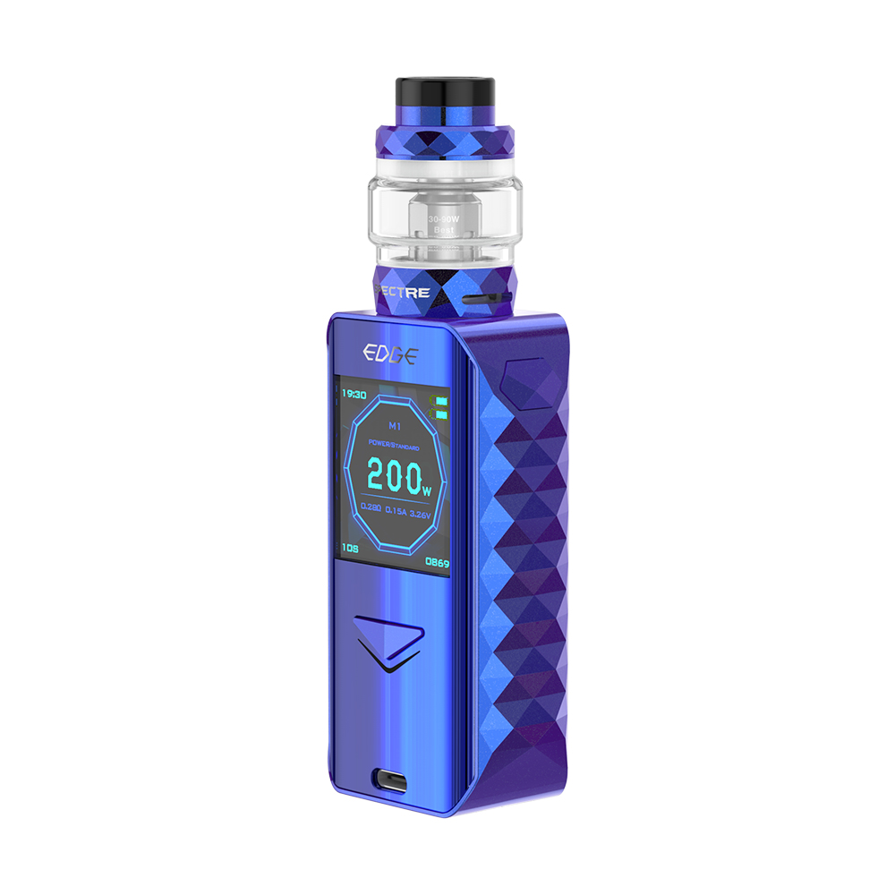 Digiflavor Edge 200W TC Kit with Spectre(Blue, 5.5ml Standard Edition)