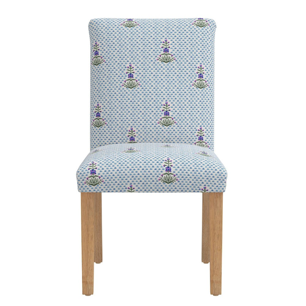 Dining Chair Kiko Floral Blue - Skyline Furniture from Skyline Furniture