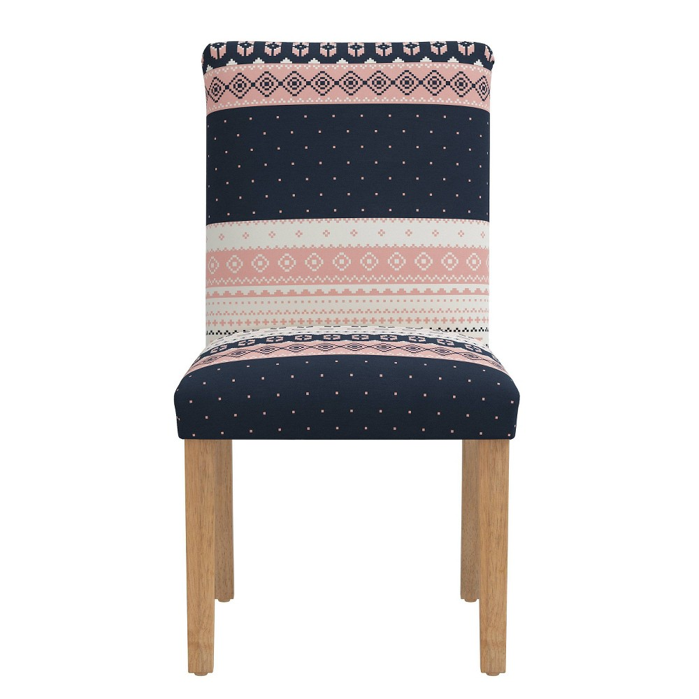 Dining Chair Nordic Sweater Navy Blush - Skyline Furniture from Skyline Furniture