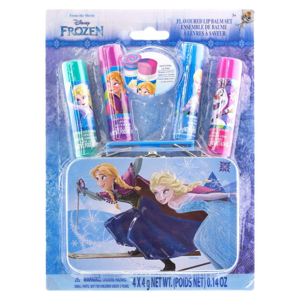 Disney Frozen Swirl Balm with Tin 4pk from Frozen