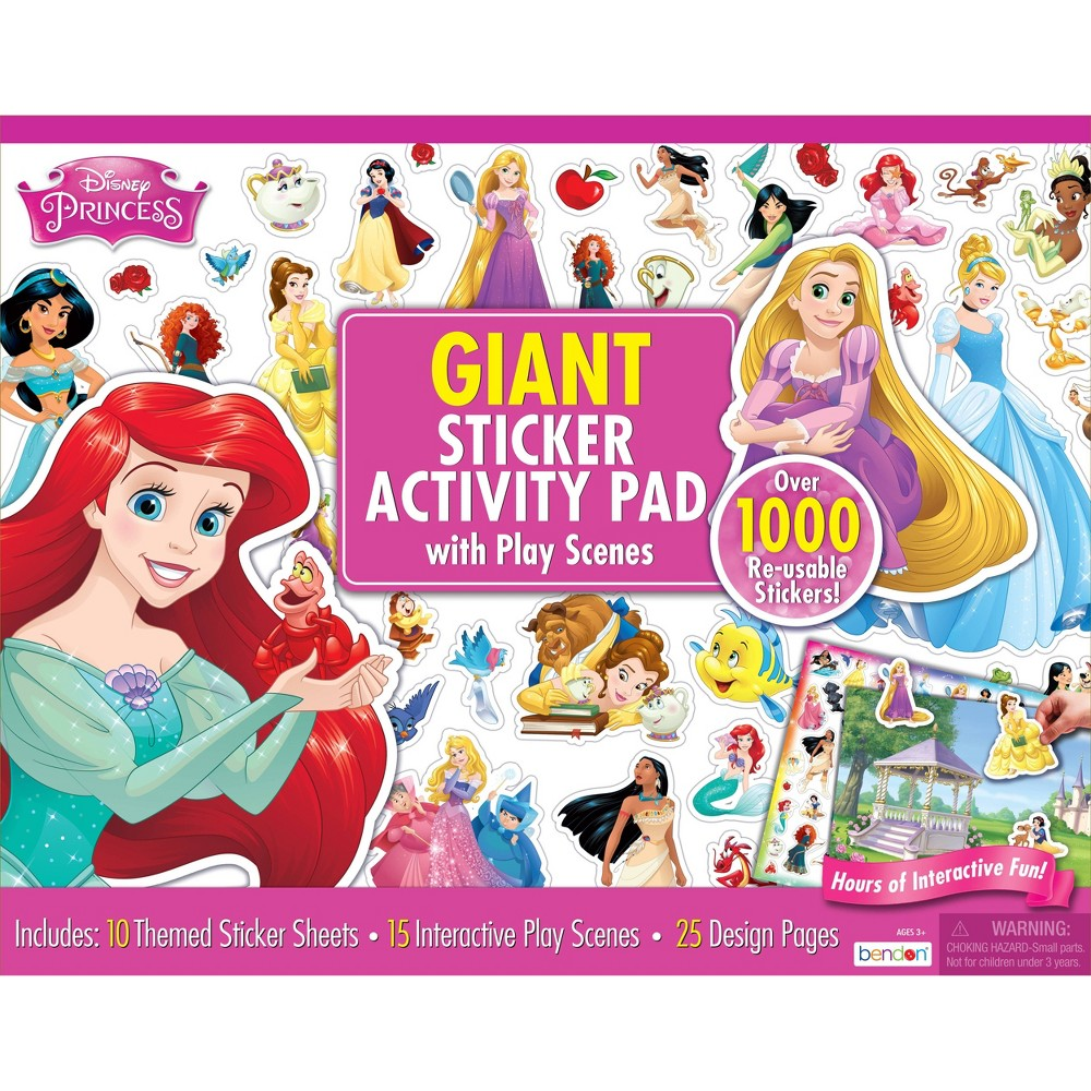 Disney Princess Giant Sticker Activity Pad from Disney Princess
