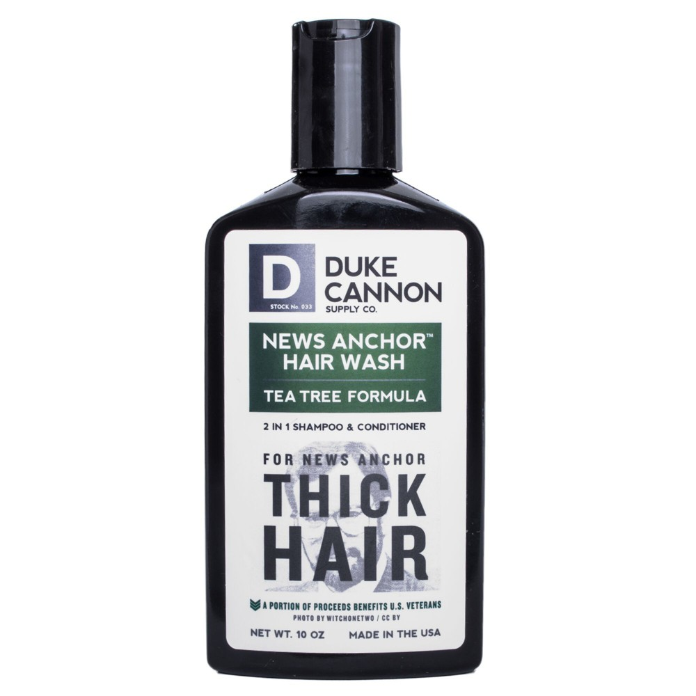 Duke Cannon News Anchor 2-in-1 Hair Wash - Tea Tree Formula - 10oz