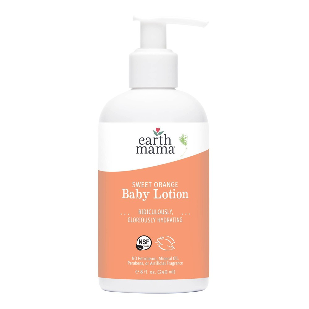 Earth Mama Sweet Orange Baby Lotion - 8oz