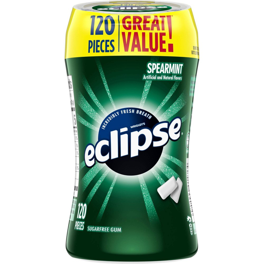 Eclipse Spearmint Gum - 120ct from Eclipse