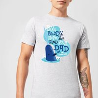 Elf Bye Buddy Men's Christmas T-Shirt - Grey - M - Grey from Elf