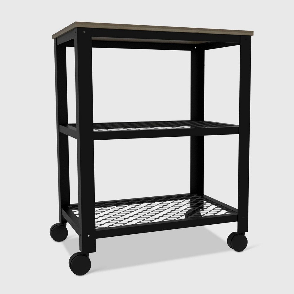 Emery Kitchen Cart Light Wood - RST Brands from RST Brands