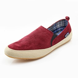 Ericdress Canvas Plain Slip-On Mens Casual Shoes