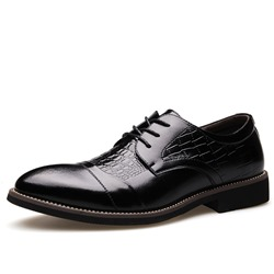 Ericdress Croco Point Toe Mens Oxfords