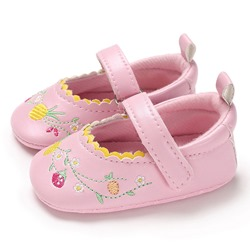 Ericdress Embroidery Floral Toddler Shoes