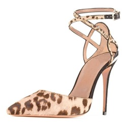 Ericdress Leopard Print Pointed Toe Stiletto Heel Womens Pumps